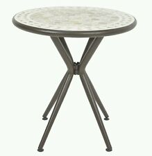 Blooma Sofia 2 Seater Round Bistro Garden Mosaic Table only (No chairs)