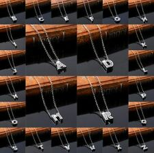 A-Z Alphabet Word Charms Necklace Chain Pendants Thanksgiving Jewelry Gift