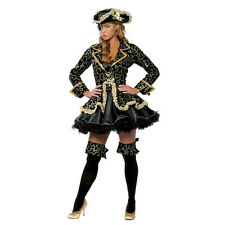 Halloween Sexy Women Ladies Costume Fancy Dress Caribbean Pirate 5PCS Outfit New