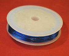 Craft wire for jewellery model making  in choice of colours 10m lengths approx