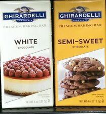Ghirardelli Chocolate ~ Premium Baking Bar – Assort. Varieties