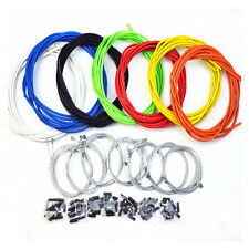 11pc Practical Road Mountain Bicycle Cycling Brake Shifter Cable Housing Kit Set