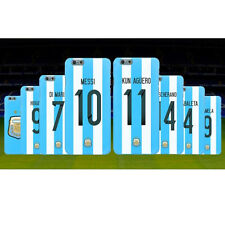 Argentina Football Team Phone Hard Case For iPhone Messi Aguero Higuain Di Maria