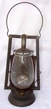 Antique Dietz Kerosene Lamp Original Buckeye Dash Kerosene Lantern New York USA