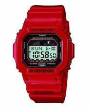 Casio G-Shock GLX5600-4 G-Lide Surfing Red Resin Quartz Men's Wrist Watch New