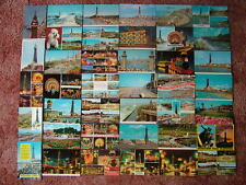 40 Postcards of BLACKPOOL. 1960's - 1980's. Standard size.