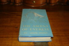 THE ASCENT OF EVEREST BY JOHN HUNT-SIGNED COPY