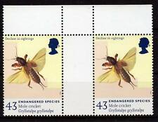 Great Britain-1998, insect, gutter pair, MNH**
