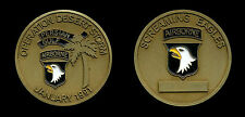 Challenge Coin - US Army 101st Airborne Division - Desert Storm 1991