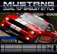 2005 - 2009 Ford Mustang Shelby, Lemans, Roush Style Super Stripes Top Quality