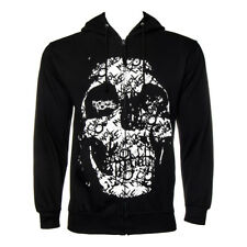 Official Hoodie MY CHEMICAL ROMANCE Black HAUNT Print Band Hooded Top All Sizes