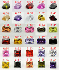 You Pick colors Diamonds Oval-Heart -Round  VVS Gem AAA Natural Tanzania Zircon
