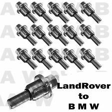 RANGEROVER TO BMW 3 5 6 Series e36 e46 ALLOY WHEEL KIT 20 BOLTS M12 x 1.50  NUTS