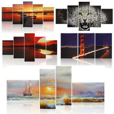3/5 Panel Canvas Print Wall Art Painting Picture Home Living Room Decor 10 Types
