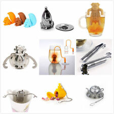 Silicone Coffee Tea Filter Diffuser Infuser Loose Leaf Strainer Herbal Spice NEW