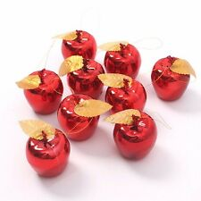 Christmas Tree Xmas Big Apple Decorations Baubles Party Wedding Ornament 6pcs