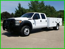 2011 FORD F550 CREW CAB 6.7L DIESEL POWERSTROKE 11' SERVICE UTILITY TRUCK 180k