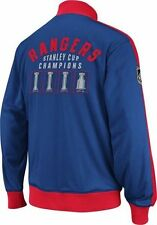 New York RANGERS Officiallly Licensed NHL Stanley Cup Tracker CCM Jacket,