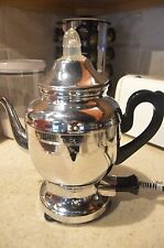 Vintage Farberware Automatic Chrome Plated Electric Coffee Percolator Urn