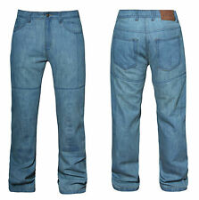 Mens Motorbike Motorcycle Trousers Jeans With Protective Lining