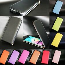 Genuine Real Leather Luxury Magnetic Flip Skin Phone Case Cover For Sony Xperia