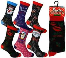 Ladies Christmas Socks Novelty Socks Stocking Filler Xmas Gift