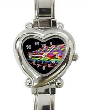 Hooping Heart Italian Charm Watch (Battery Included)