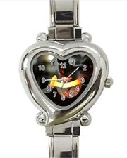 Blacksmithing Heart Italian Charm Watch (Battery Included)