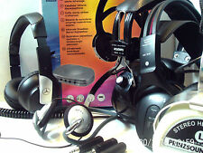 HEADPHONES, STUDIO, GAMING, DJ, PA ~ click HERE to browse or order