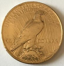 Ref. 1416-1600 - COI UNITED STATES . 1922. 1922 PEACE SILVER DOLLAR - LIGHT GOLD