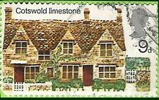 Postage Stamp Great Britain 1970 Cottages - 1 of 4