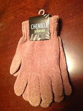 Chenille Soft Knit Gloves