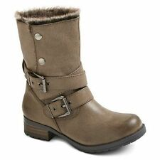 NEW! Mossimo Supply Co. Women's Kiki Shearling Style Boots $37.99