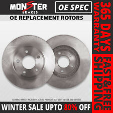 (Front Rotors)2 OE SPEC Brake Rotors(Chevrolet GMC Dodge)(8lug)