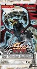 Konami YGO Booster Pack 5D's - Shining Darkness Booster Pack MINT