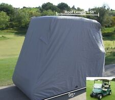 Golf Cart Cover 2 Passenger Yamaha Model  G E Z GO  Canvass Club Car Enclosures