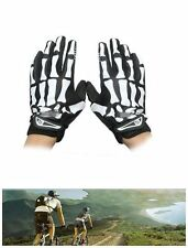 Skeleton Gloves Bones Hands Mens Women Skull Hand Reaper Adult Mitten M, L, XL