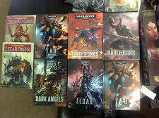 Warhammer /40K Codexes and Army Books. Various, Games Workshop