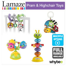 Tomy Lamaze Pram & Highchair Baby Nursery Toys Full Range! Twist, Turn & Clip