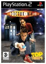 TOP TRUMPS DOCTOR WHO PS2 GAME DISC ONLY UK PAL