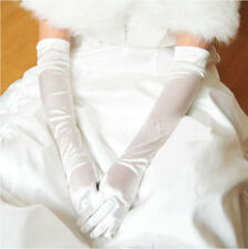 HOT Lady's Satin Long Gloves Opera Wedding Bridal Evening Party Costume Gloves U