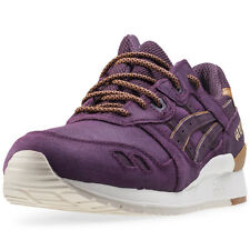 Asics Onitsuka Tiger Gel-lyte Iii Mens Trainers Wine New Shoes