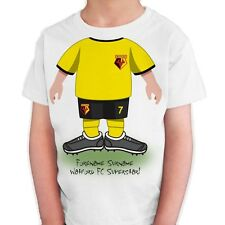 Personalised Watford Childs Use Your Head T-Shirt 9 10 Years