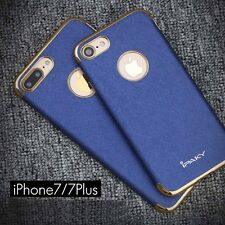 Luxury Ultra-thin Electroplate PU Leather Soft Case Cover For iPhone 6S 7 7 Plus