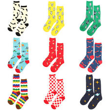 New Cute Casual Cotton Socks Design Multi-Color Fashion Unisex Mens Womens Socks