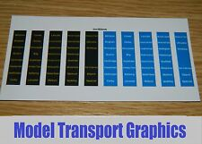 East Midlands Trains Destination Decals blu Hornby Bachmann 153 156 158 Sprinter