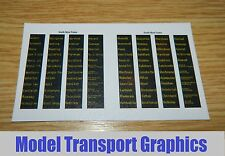 South West Trains Digital Destinations Decals Bachmann Hornby Class 153 158 159