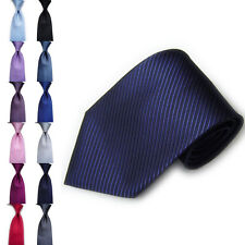 Men Classic Striped Ties WOVEN JACQUARD Silk Suits Tie Casual Necktie Fashion