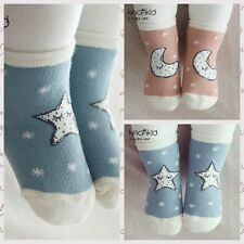 New 1 Pair Newborn Baby Toddler Kids Cotton Warm Anti-skid Elastic Cartoon Socks