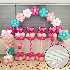 4pcs PVC Poles&Connector For Upright Balloon Base Stand Weeding Birthday Decor